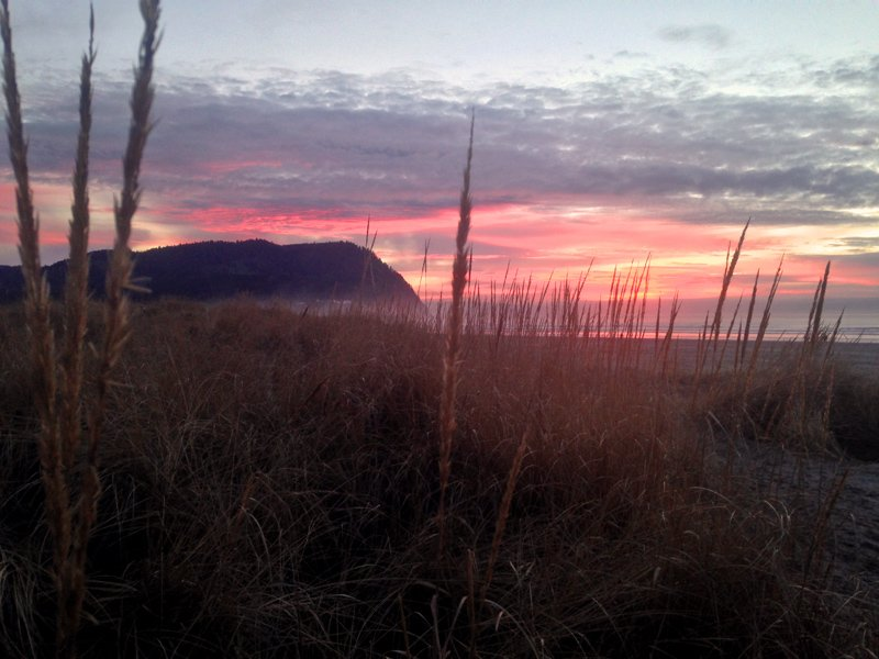 Seaside OR Sunset