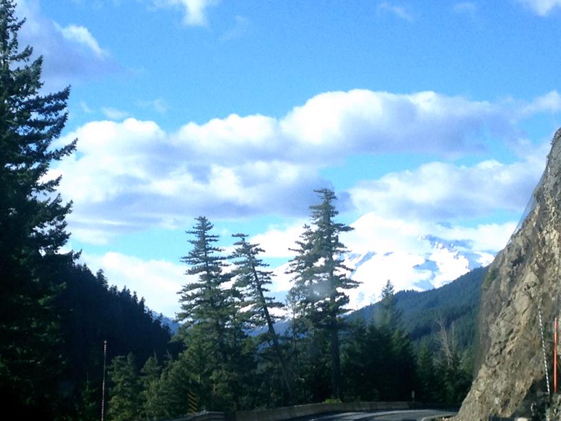 Leaving White Pass Rainier